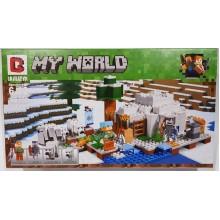 Конструктор My World 958