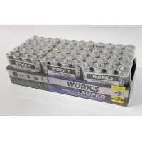 Батарейки Work's 1.5V/AA/R6W-4S