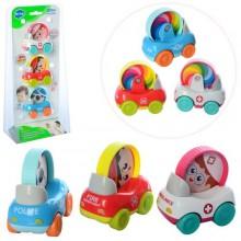 Игрушечный набор спецтехники HuiLe Toys 3129B