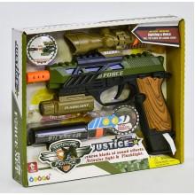 Игрушечный пистолет с световыми и звуковыми эффектами 34590
