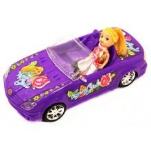 Кукла с машинкой 5577