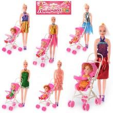 Кукла с коляской 68003 A