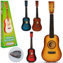 Игрушечная деревянная струнная гитара М 1369